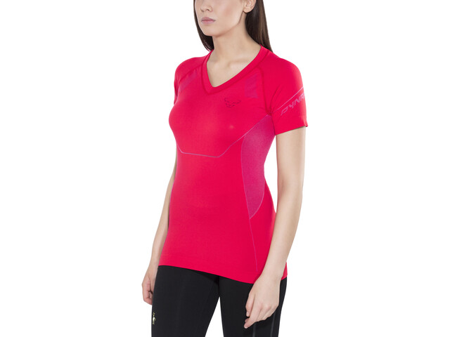 Dynafit Alpine Seamless SS Tee Dame hibiscus